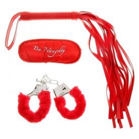 Набор красных аксессуаров для влюблённых