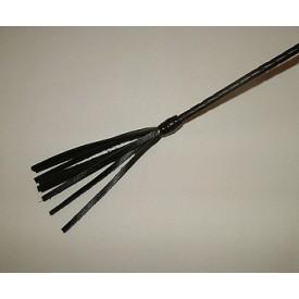 Длинный витой стек с наконечником в форме кисточки - 85 см.
