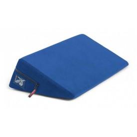 Синяя малая подушка для любви Liberator Wedge